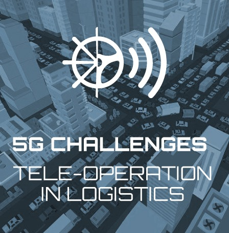 First challenges of 5G in tele-operation in logistics defined